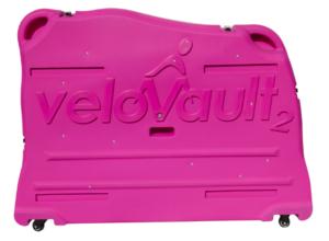 Velovault2 bike box pink